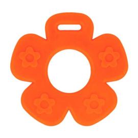 Bijtring bloem oranje nr. 693