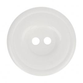 Bottoni Italiani knoop nr. 009 wit