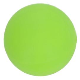 Siliconen kraal rond 10 mm nr. 548 groen