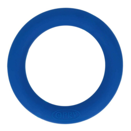 Siliconen bijtring 65mm nr. 215 donker blauw