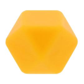 Siliconen kraal nr. 645 donkergeel