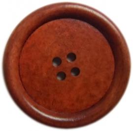 Houten knoop 3 t/m 4 cm