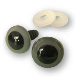 Veiligheidsogen Grijs 6 mm