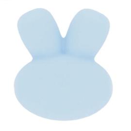 siliconen kraal konijn nr. 258 lichtblauw