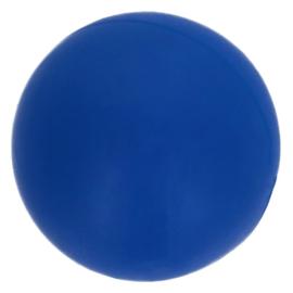 Siliconen kraal rond 10 mm nr.  215 blauw