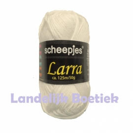 Scheepjeswol Larra nr. 7420 gebroken wit