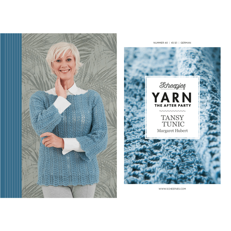 Scheepjes Yarn The Afterparty nr. 40 Tansy Tunic