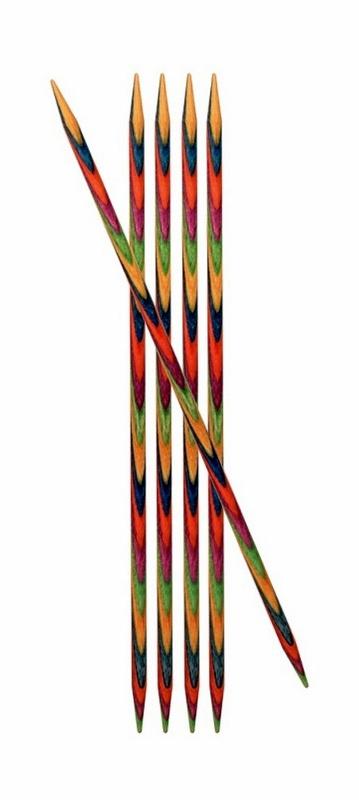 Knitpro Symfonie Wood Sokkennaalden 20 cm 4.5 mm