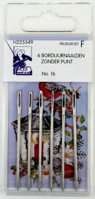 Borduurnaalden zonder punt nr. 16