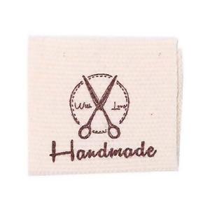 Stoffen Label Handmade With Love Schaartje
