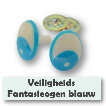 Fantasieogen blauw