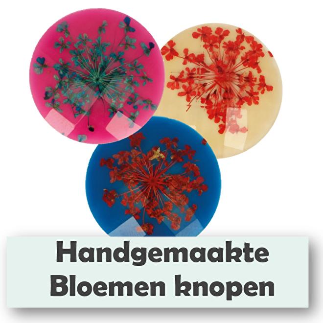 handgemaakte bloemenknopen