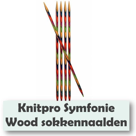 Knitpro symfonie wods sokkennaalden