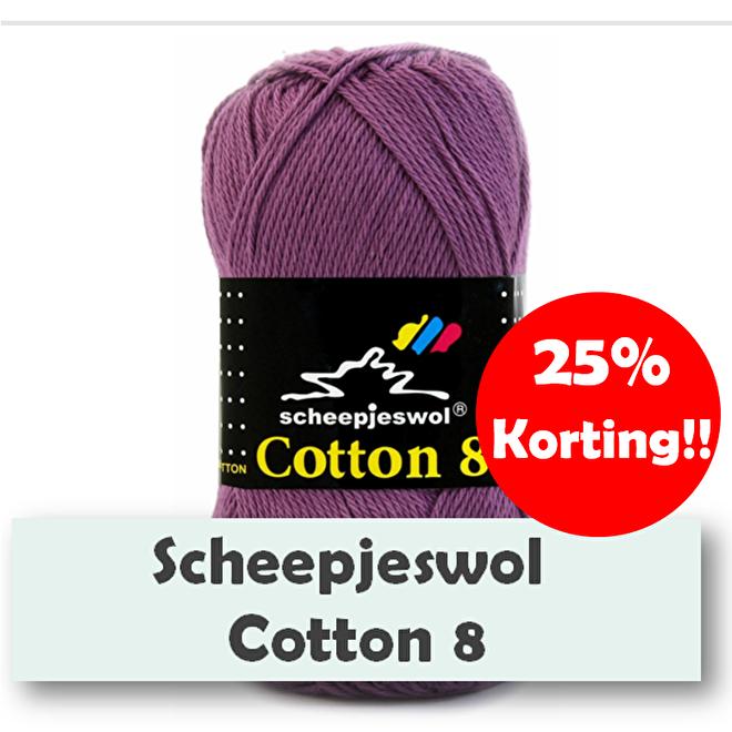 Scheepjes cotton 8 korting