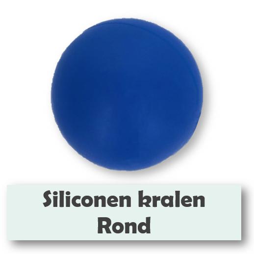 Siliconen kralen rond