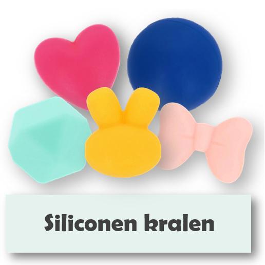 Siliconen kralen