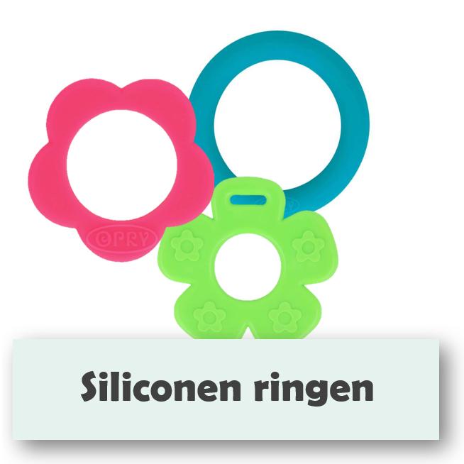 Siliconen Bijtringen