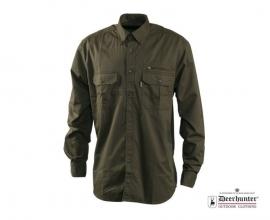 Deerhunter Wapiti overhemd lange mouwen; alleen nog  maat 43/44 Kleur licht!