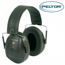 Peltor Bull`s Eye I gehoorbeschermers groen, rood of zwart