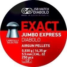 JSB Exact Jumbo Express   5.52 mm /  500 stuks