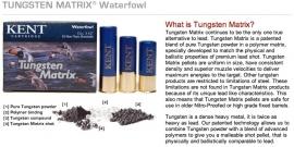 Kent Tungsten Matrix kaliber 12 en 16