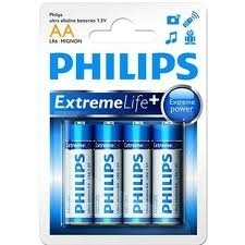 Philips Extreme Life ultra alkaline AA