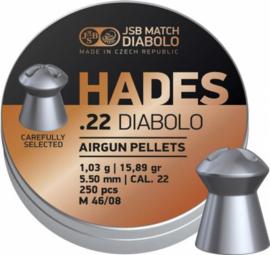 JSB Hades .22 Diabolo   5.5 mm   500 Stuks