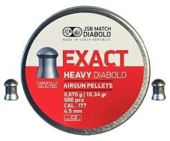 JSB Exact Heavy Diabolo    4.52 mm / 500 stuks