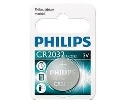 Philips Lithium Minicell CR2032 / DL 2032