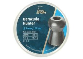 H&N Baracuda Hunter 5.5 mm 200 stuks