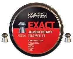 JSB Exact Jumbo Heavy   5.52 mm /  250 stuks