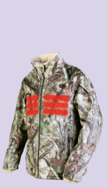 Thermo jas in camouflage print