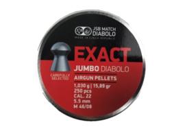 JSB Exact Jumbo Diabolo   5.52mm / 500 stuks