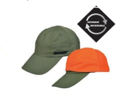 Basecap - Pet  Groen omkeerbaar tot signaal Oranje