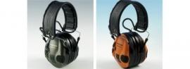 Peltor SportTac gehoorbeschermers in groen/oranje