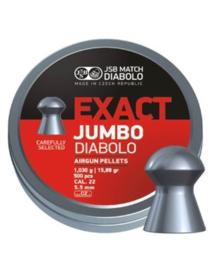 JSB Exact Jumbo Diabolo   5.52 mm / 250 stuks
