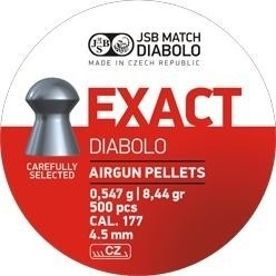 JSB  Exact Diabolo   4.53 mm /  500 stuks