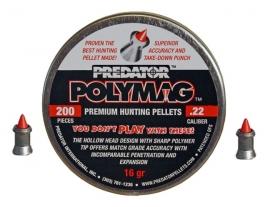 JSB Predator Polymag 5.5mm - .22  /  200 stuks