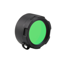 Olight Flashlight filter; groen en rood