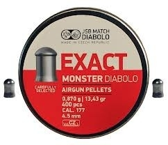 JSB Exact Monster    4.52 mm / 400 stuks