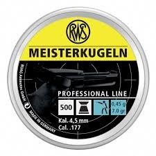 RWS Meisterkugeln pistool 500 stuks 4.5 mm