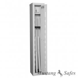 Wapenkluis 3/4 wapens 150 cm hoog met binnenkluis