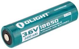 18650 accu 3400 mAh,  3.6V  Olight