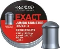 JSB Exact Jumbo Monster 5.52 mm / 200 stuks