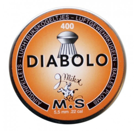 Luchtbukskogels Diabolo 5,5mm