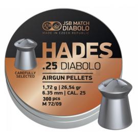 JSB Hades .25 - 300 stuks