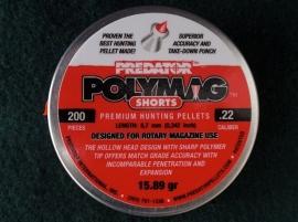 JSB Predator Polymag Shorts   5.50 mm / 200 stuks