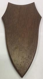 Geweischild 20x11 cm - met kaakvak,  lichtbruin  LAATSTE  3