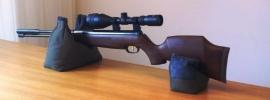 Geweersteun / Rifle rest / Zandzak tweedelig