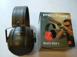 Peltor Bull`s Eye I gehoorbescherming, Groen, Rood of Zwart